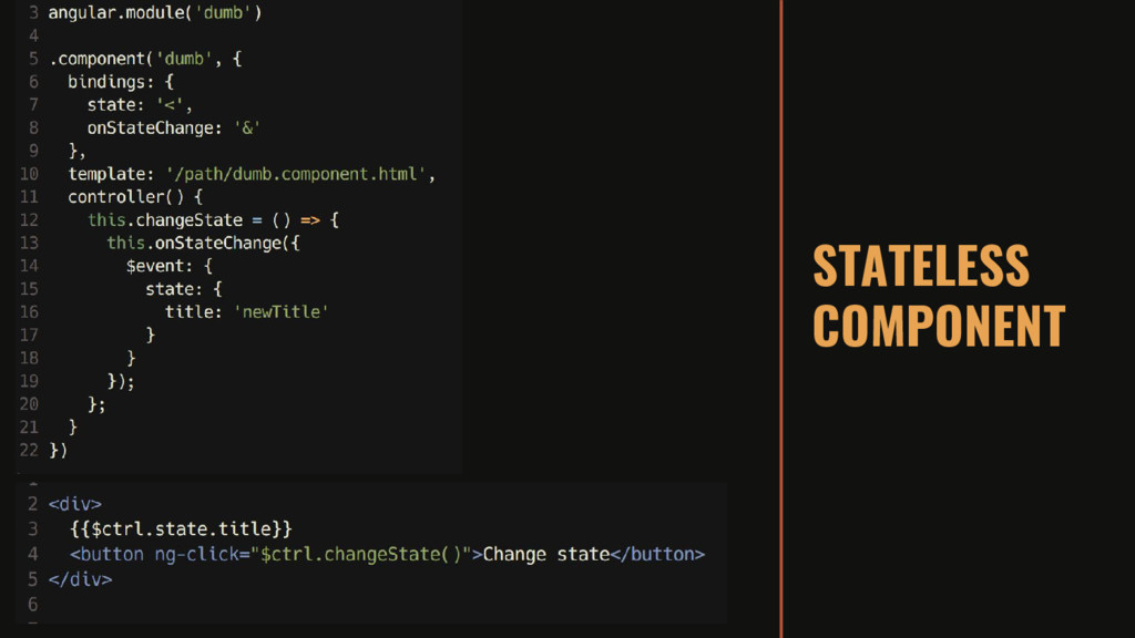 STATELESS COMPONENT