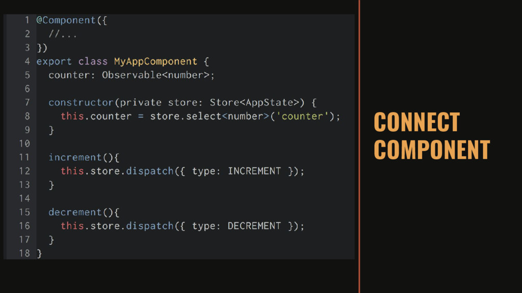 CONNECT COMPONENT