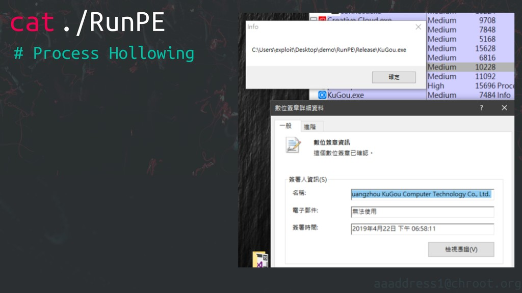 aaaddress1@chroot.org cat./RunPE # Process Holl...
