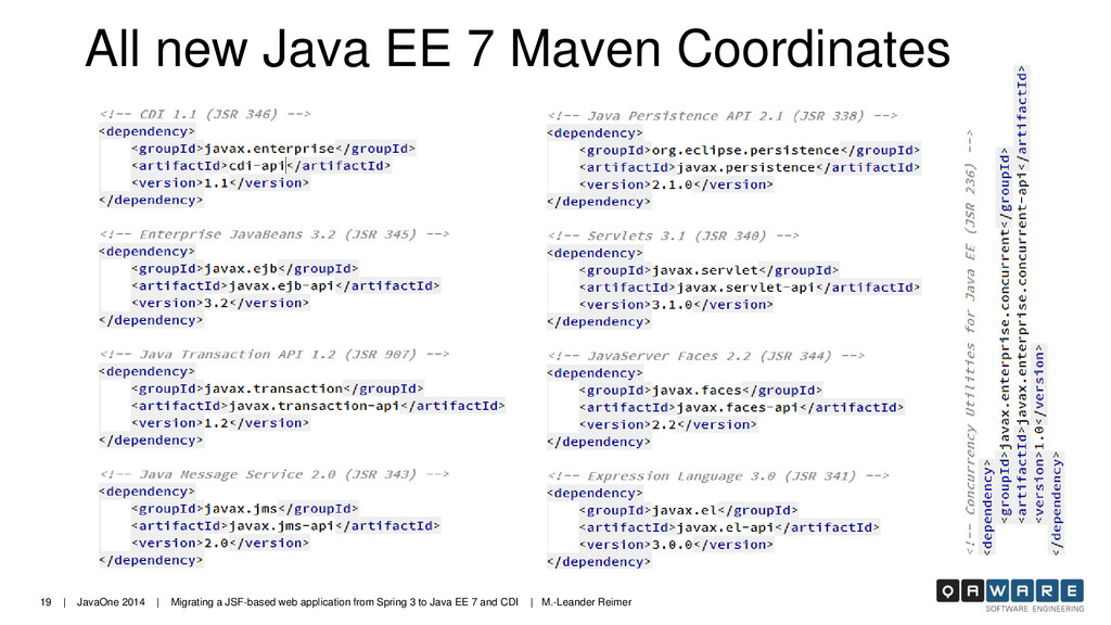19 | JavaOne 2014 | Migrating a JSF-based web a...