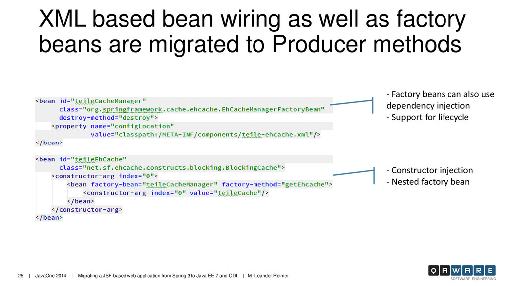25 | JavaOne 2014 | Migrating a JSF-based web a...