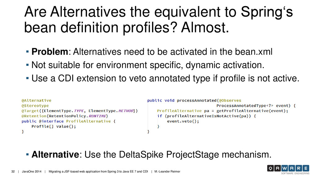 32 | JavaOne 2014 | Migrating a JSF-based web a...