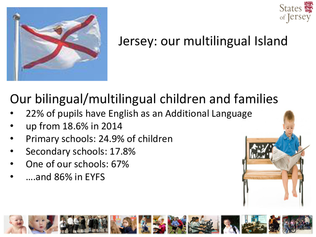 Jersey: our multilingual Island Our bilingual/m...