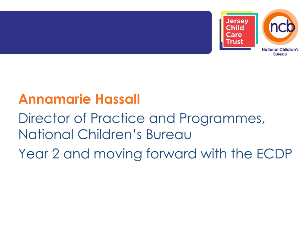 Annamarie Hassall Director of Practice and Prog...
