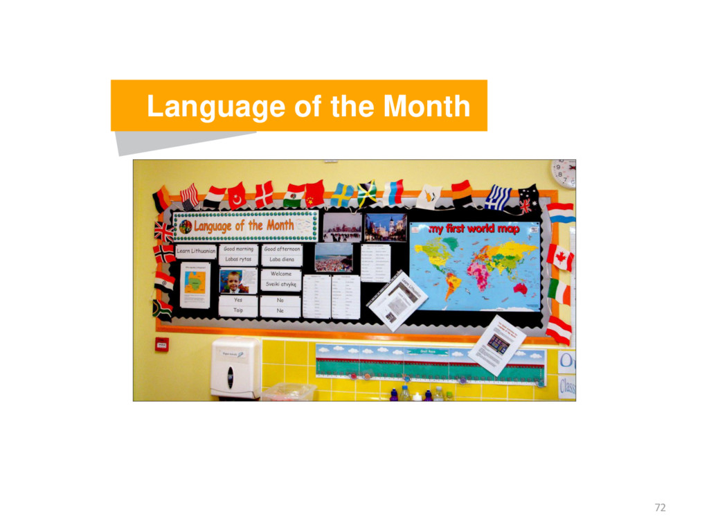 72 Language of the Month