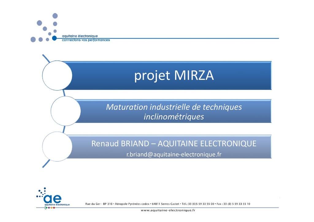 Renaud BRIAND 1 RESIF 2017 – Brissac projet MIR...