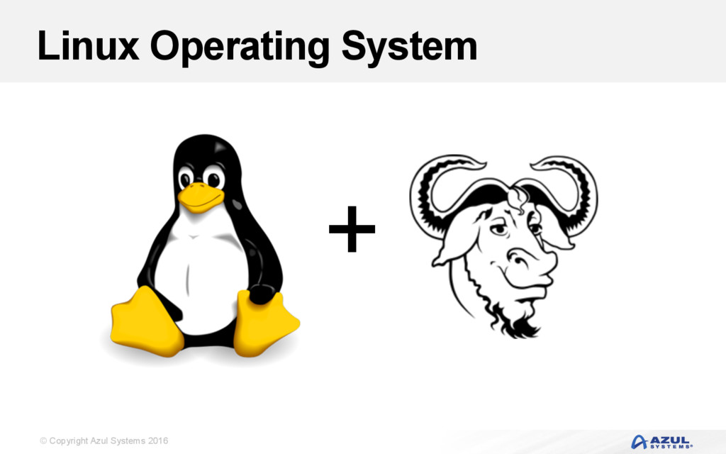 © Copyright Azul Systems 2016 Linux Operating S...