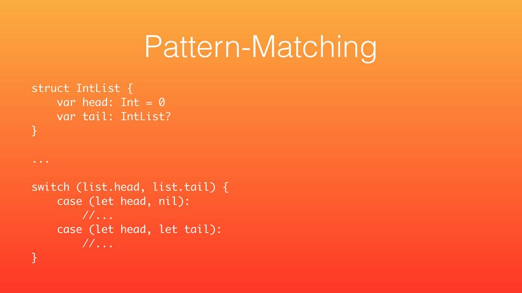 struct IntList { var head: Int = 0 var tail: In...