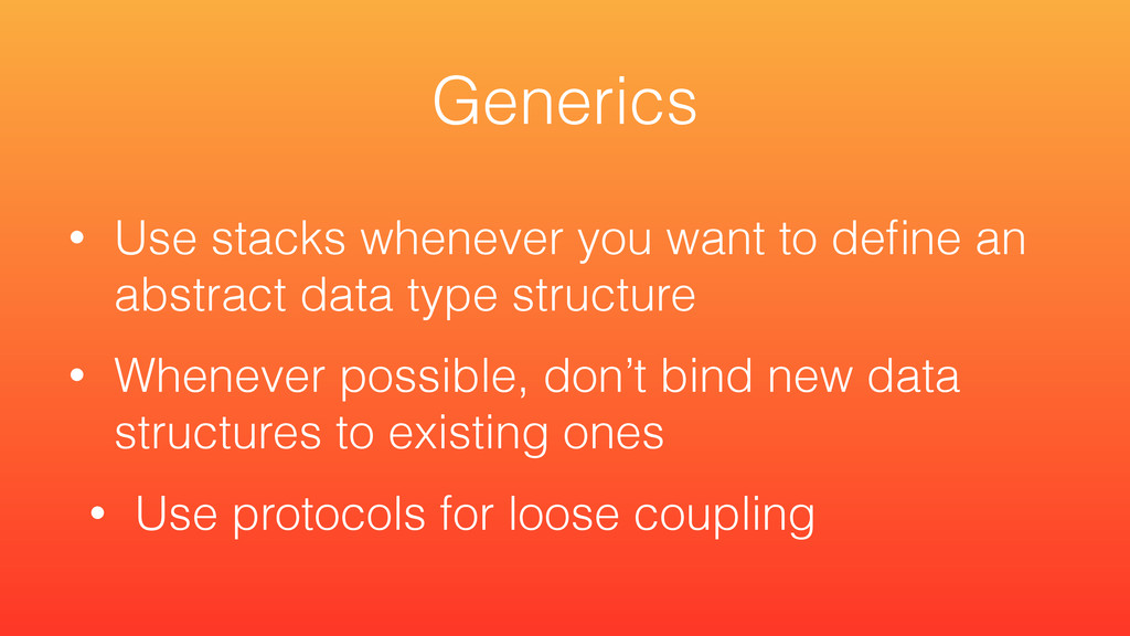 • Use stacks whenever you want to define an abst...