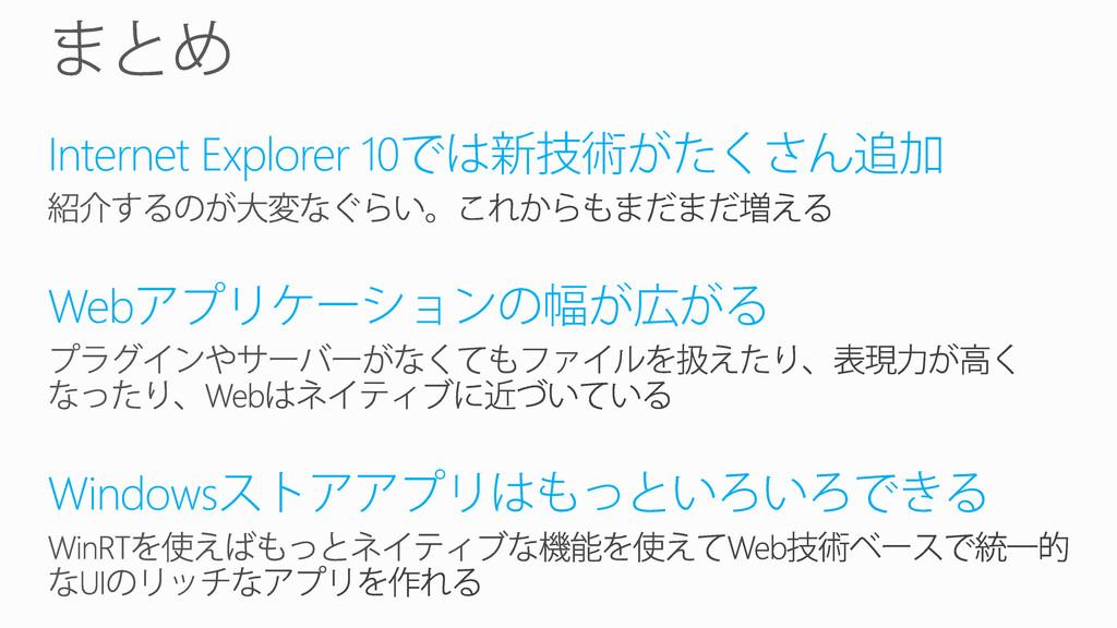 Internet Explorer 10 Web Windows