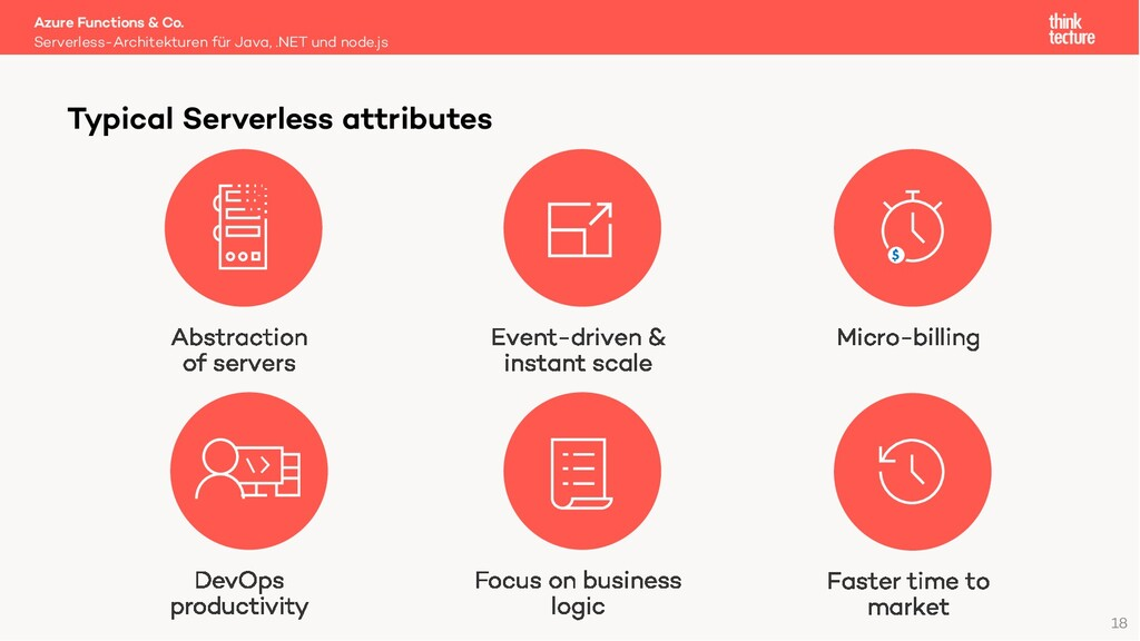 18 Azure Functions & Co. Serverless-Architektur...