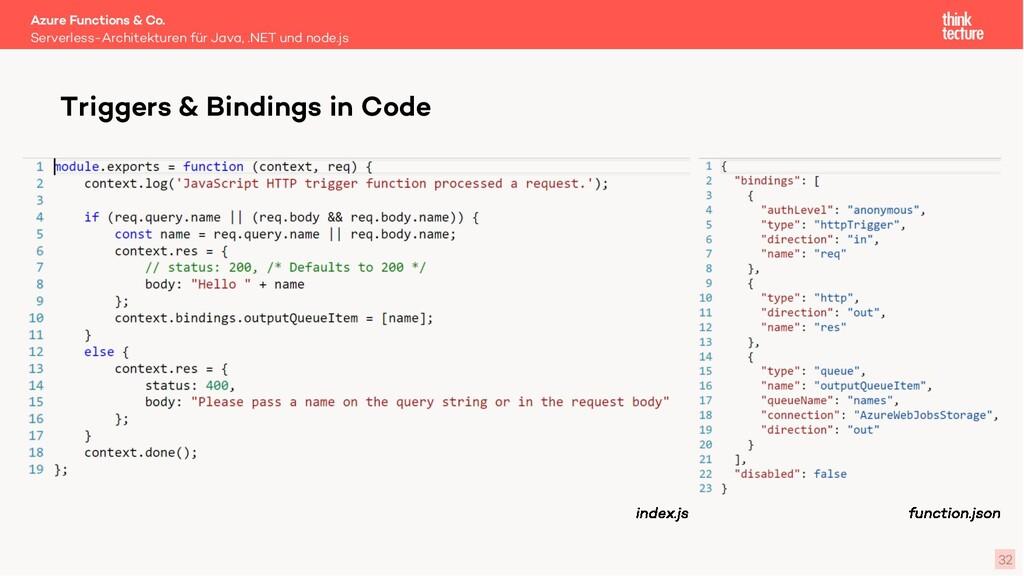 32 Serverless-Architekturen für Java, .NET und ...
