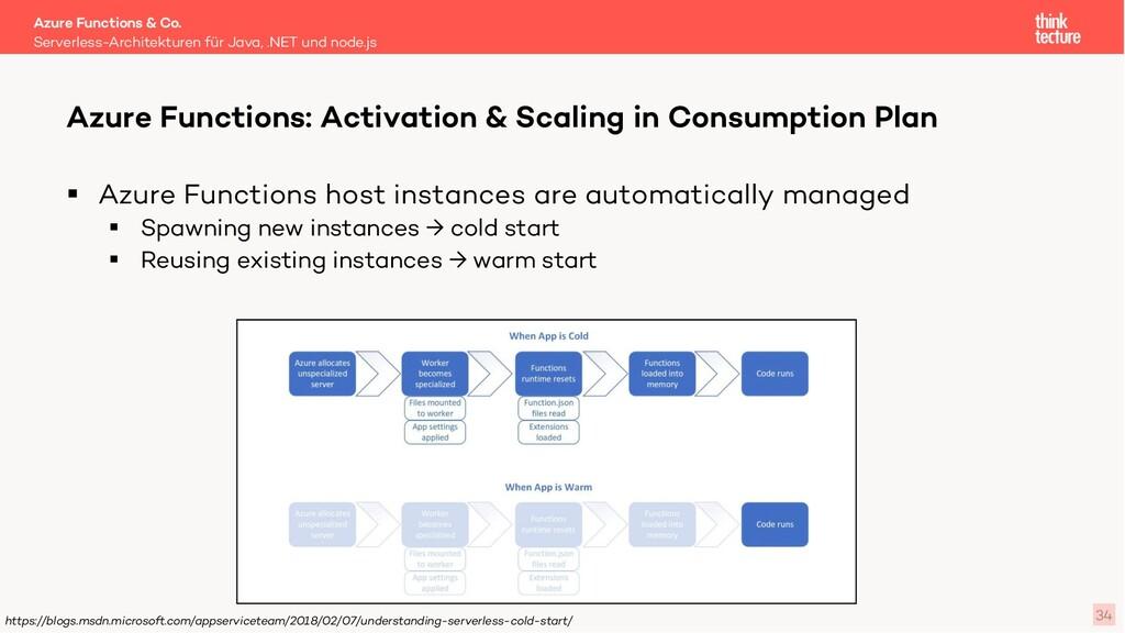 34 § Azure Functions host instances are automat...