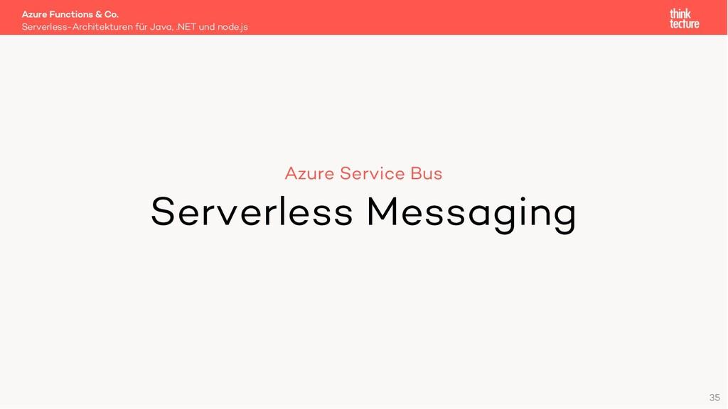 35 Azure Service Bus Serverless Messaging Serve...