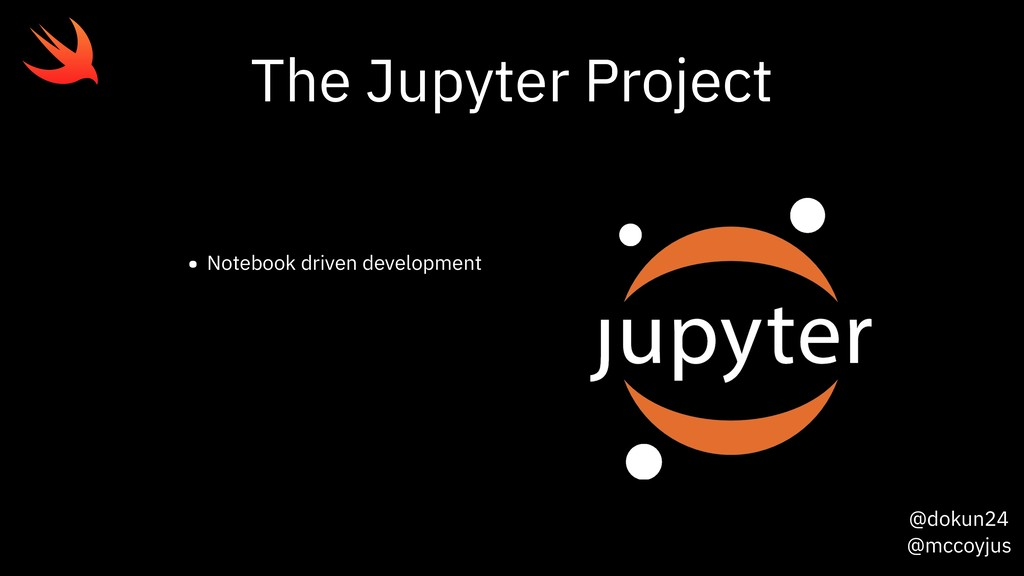 @dokun24 @mccoyjus The Jupyter Project • Notebo...