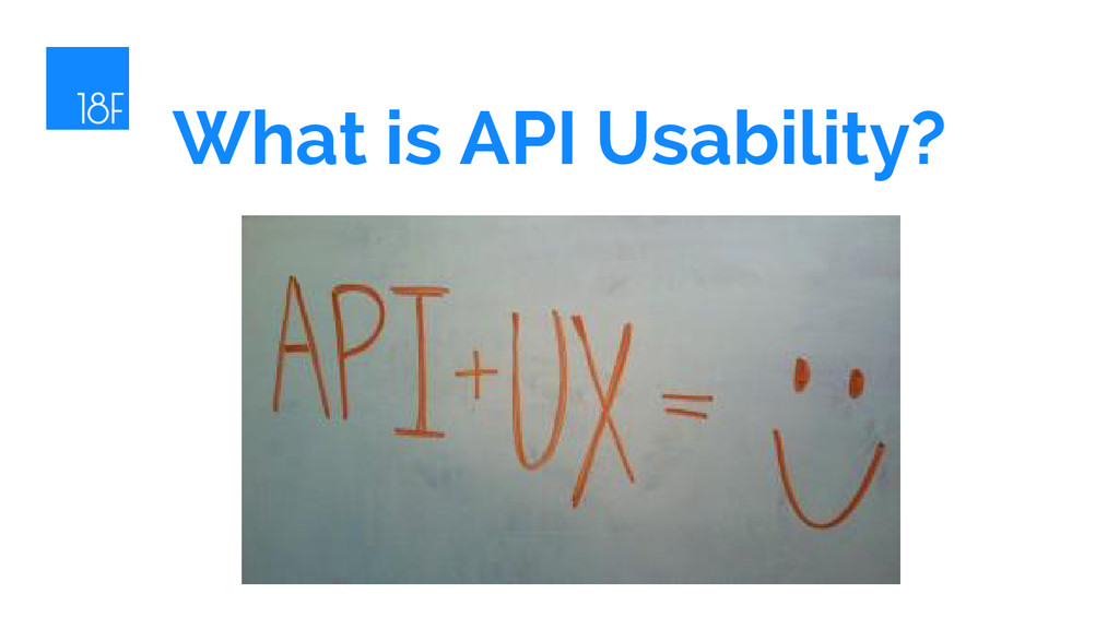 What is API Usability?