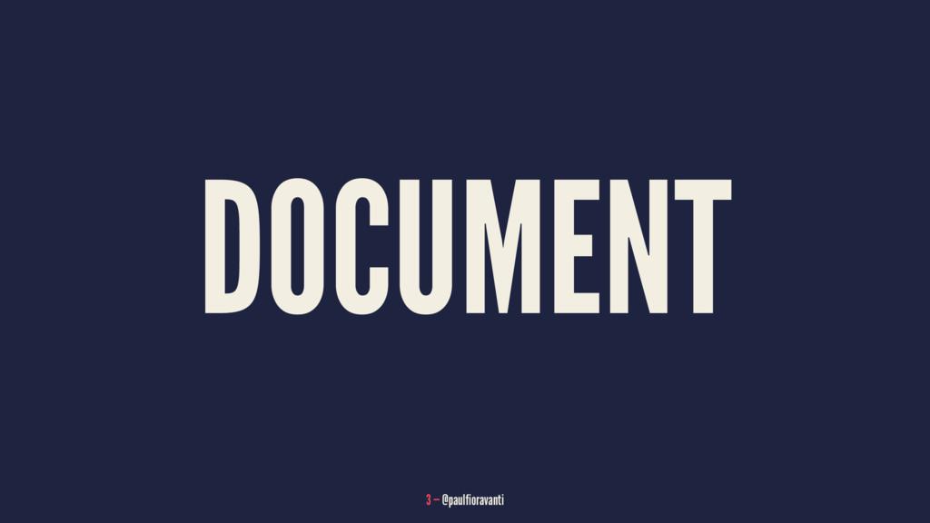 DOCUMENT 3 — @paulfioravanti