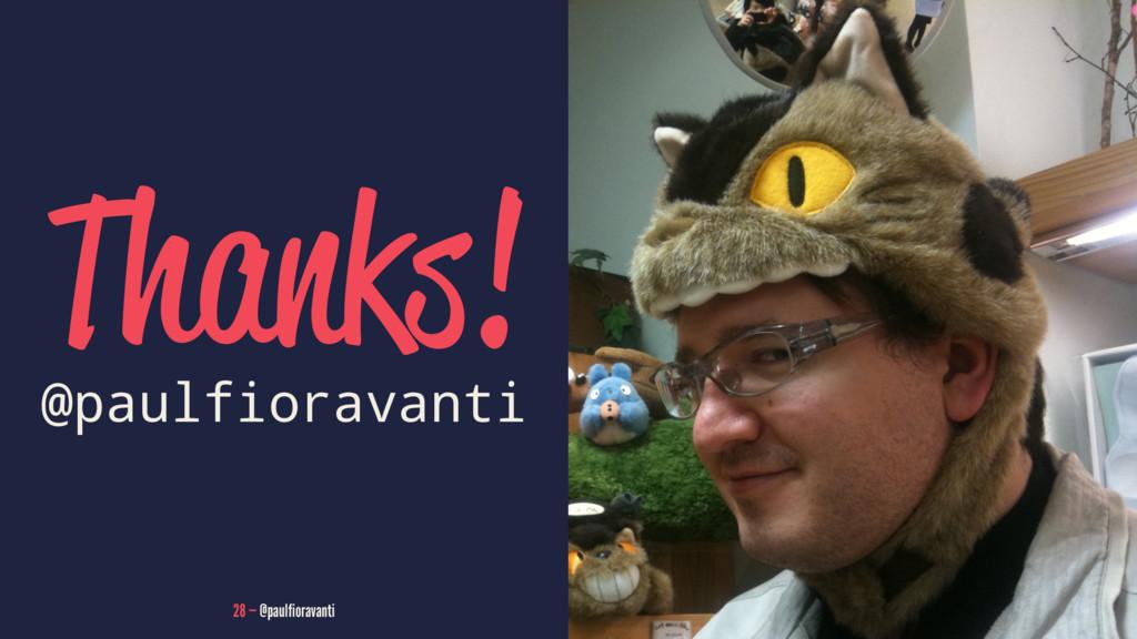 Thanks! @paulfioravanti 28 — @paulfioravanti