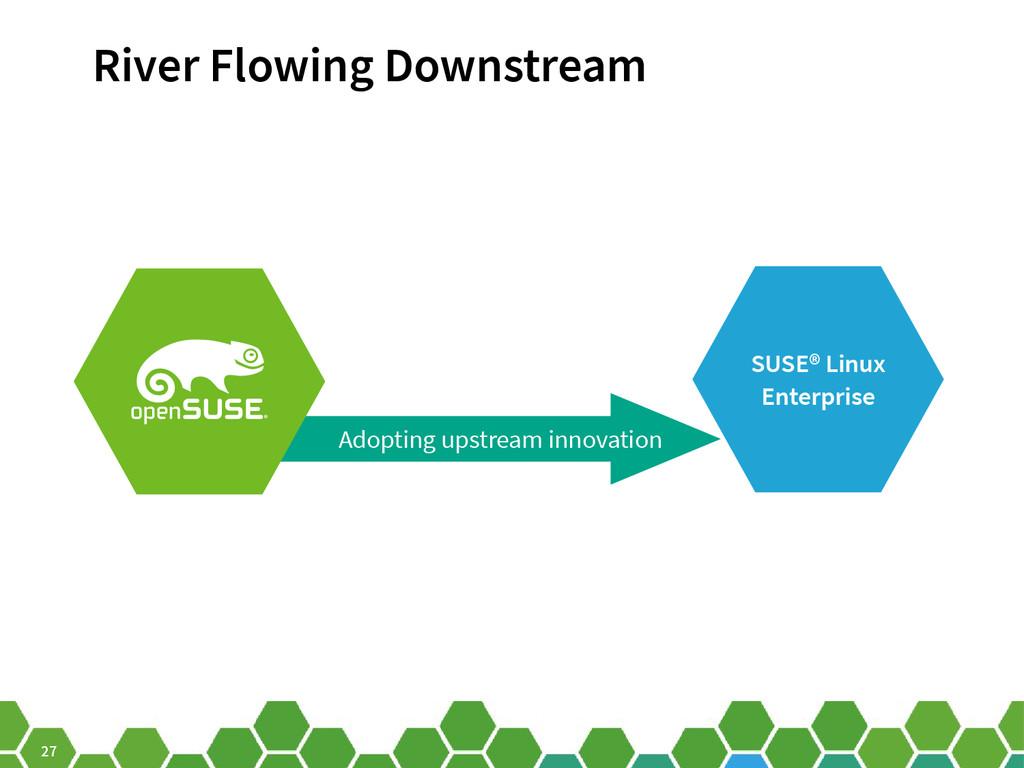 27 SUSE® Linux Enterprise River Flowing Downstr...