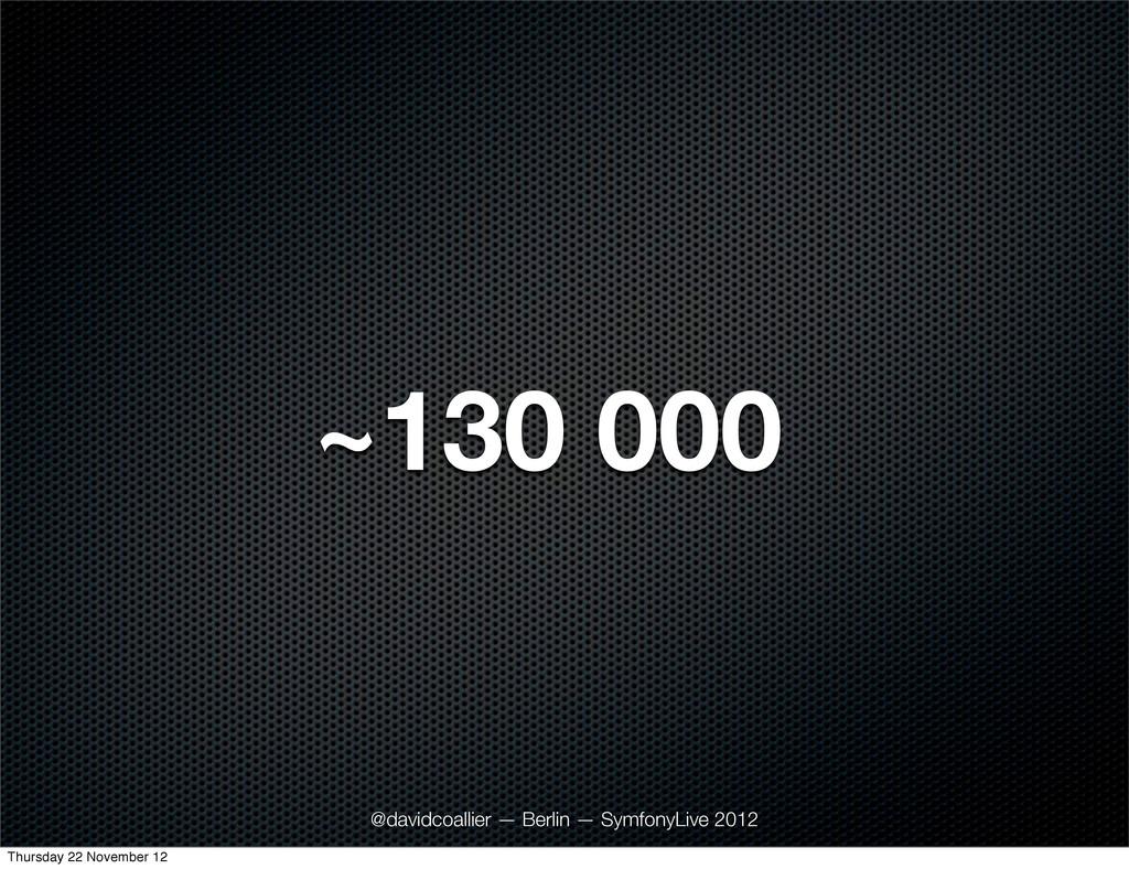 ~130 000 @davidcoallier — Berlin — SymfonyLive ...