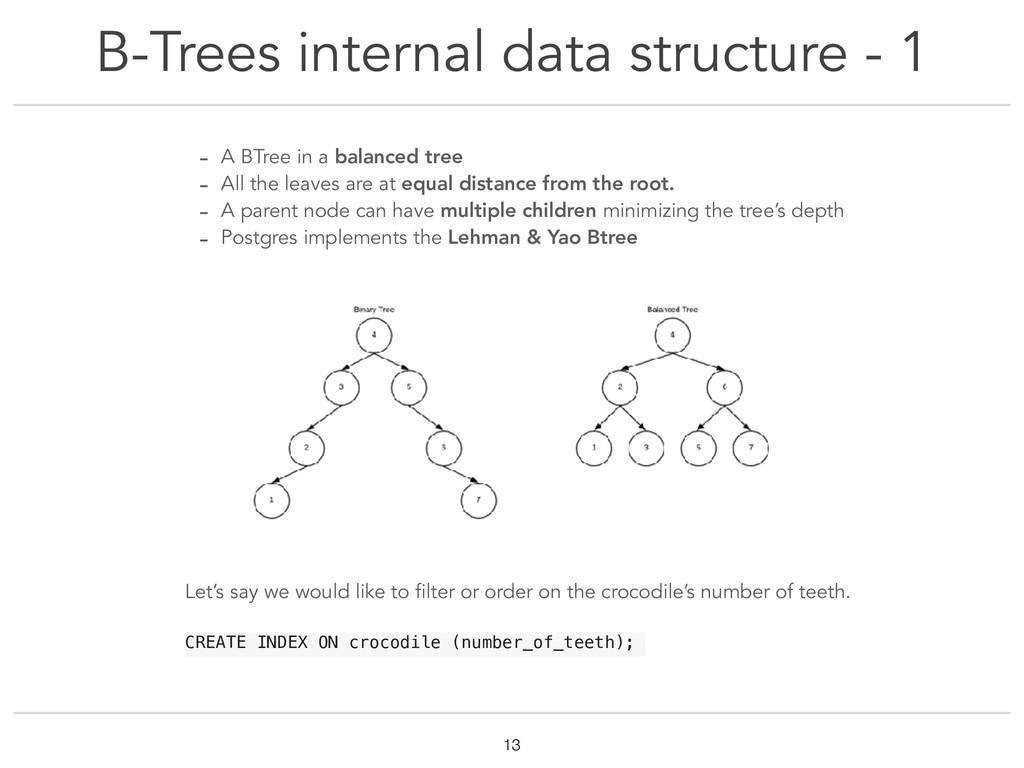 B-Trees internal data structure - 1 !13 - A BTr...
