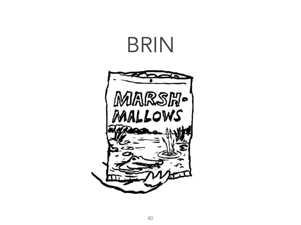 60 BRIN