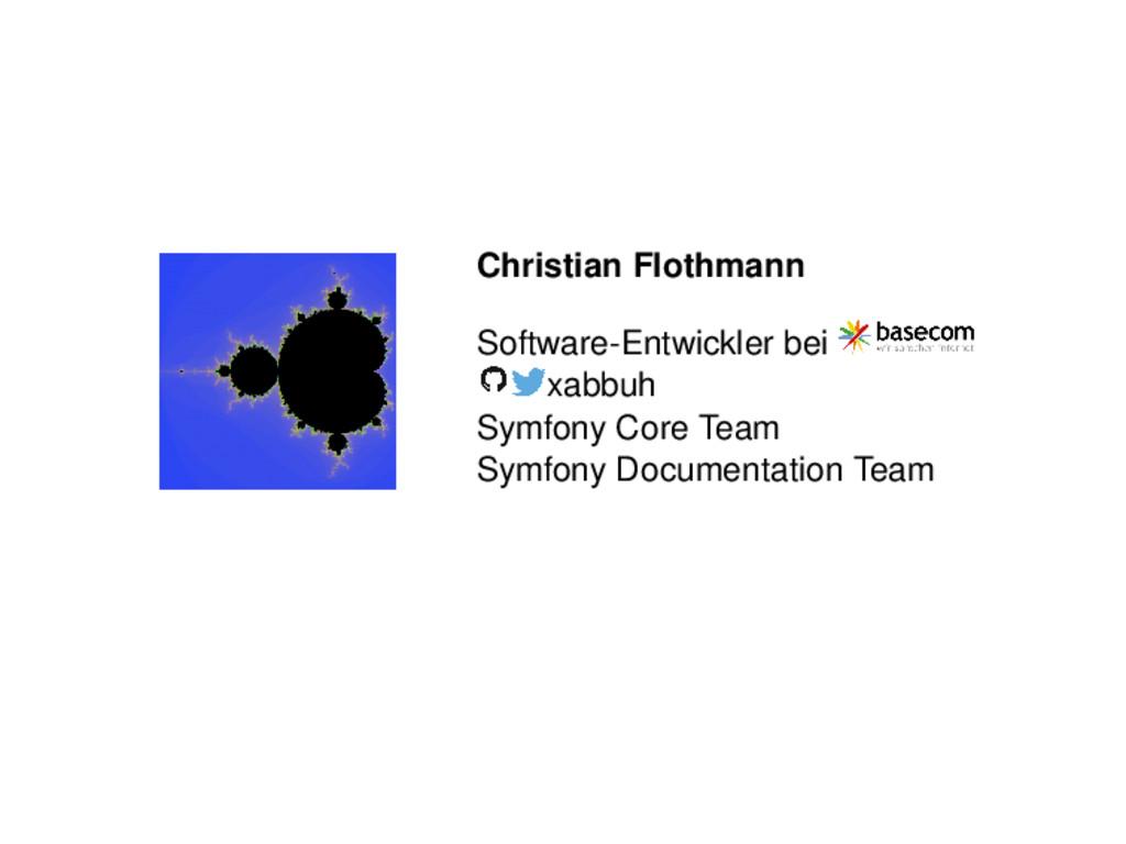 Christian Flothmann Software-Entwickler bei xab...