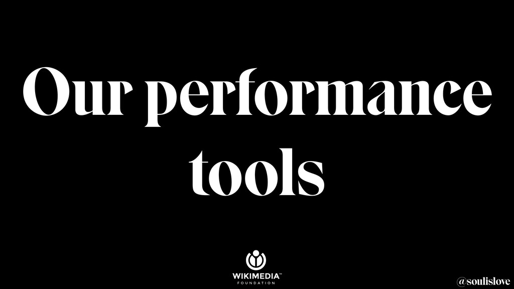 @soulislove Our performance tools