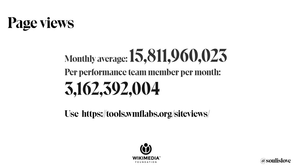 @soulislove Monthly average: 15,811,960,023 Per...