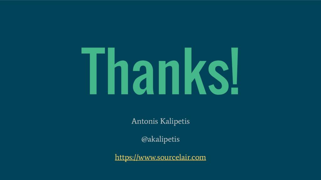 Thanks! Antonis Kalipetis @akalipetis https://w...