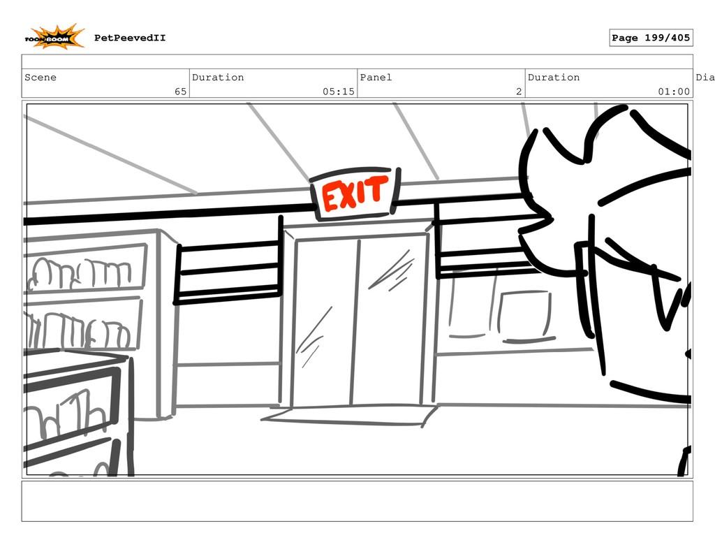 Scene 65 Duration 05:15 Panel 2 Duration 01:00 ...