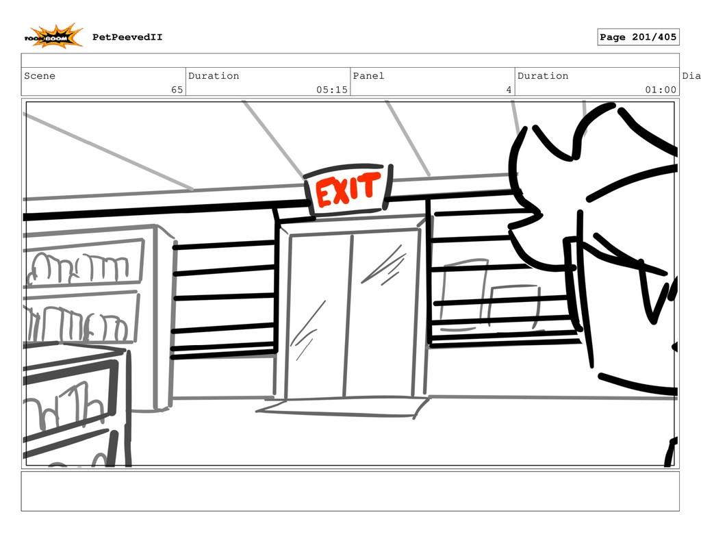 Scene 65 Duration 05:15 Panel 4 Duration 01:00 ...