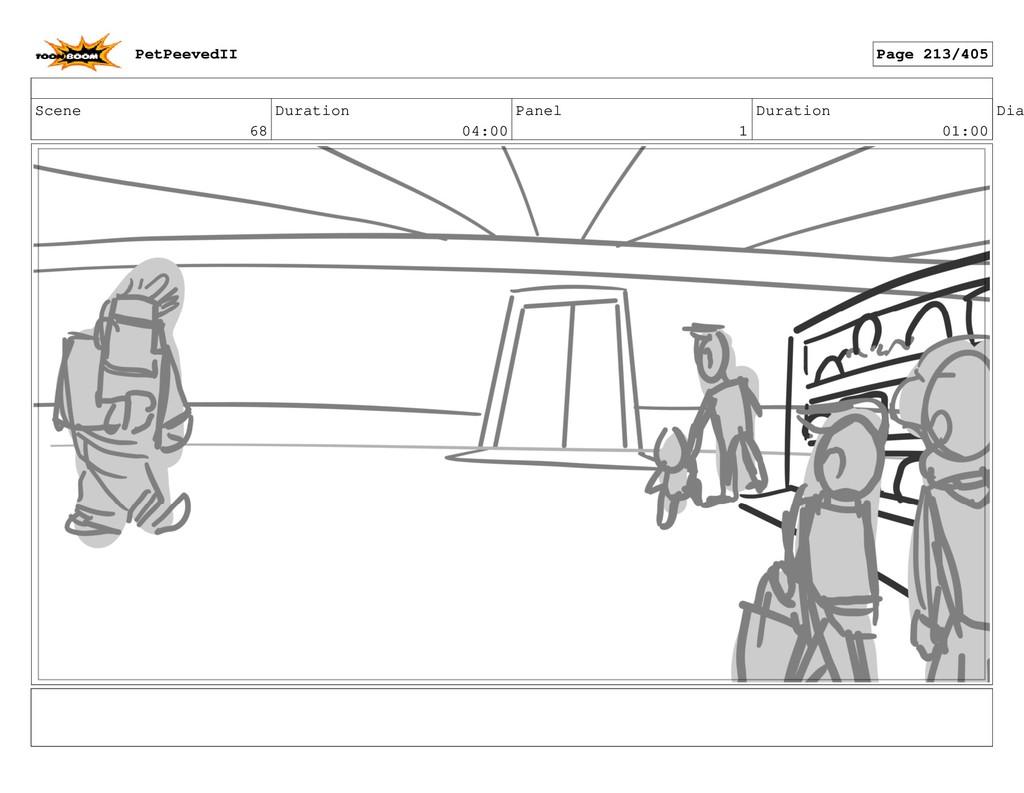 Scene 68 Duration 04:00 Panel 1 Duration 01:00 ...