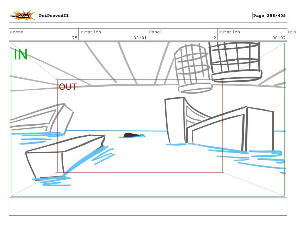 Scene 75 Duration 02:01 Panel 2 Duration 00:07 ...