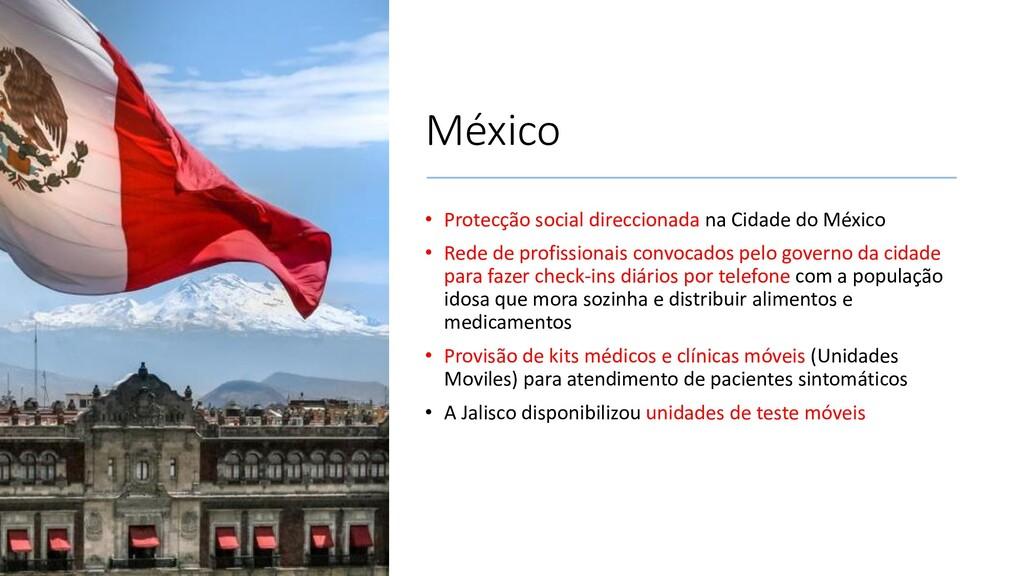 México • Protecção social direccionada na Cidad...
