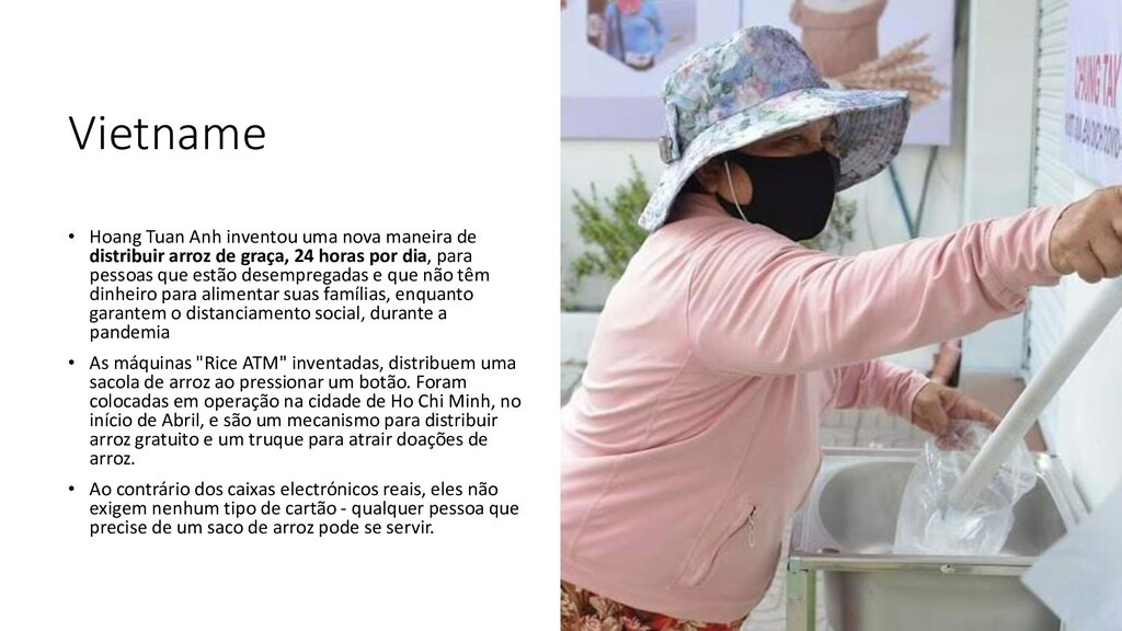 Vietname • Hoang Tuan Anh inventou uma nova man...