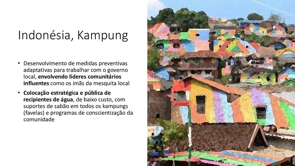 Indonésia, Kampung • Desenvolvimento de medidas...