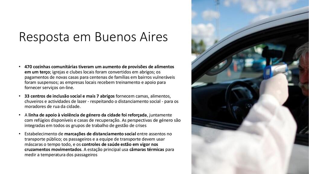 Resposta em Buenos Aires • 470 cozinhas comunit...