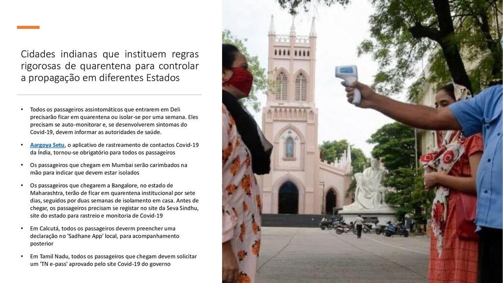 Cidades indianas que instituem regras rigorosas...