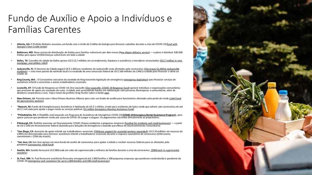 Fundo de Auxílio e Apoio a Indivíduos e Família...