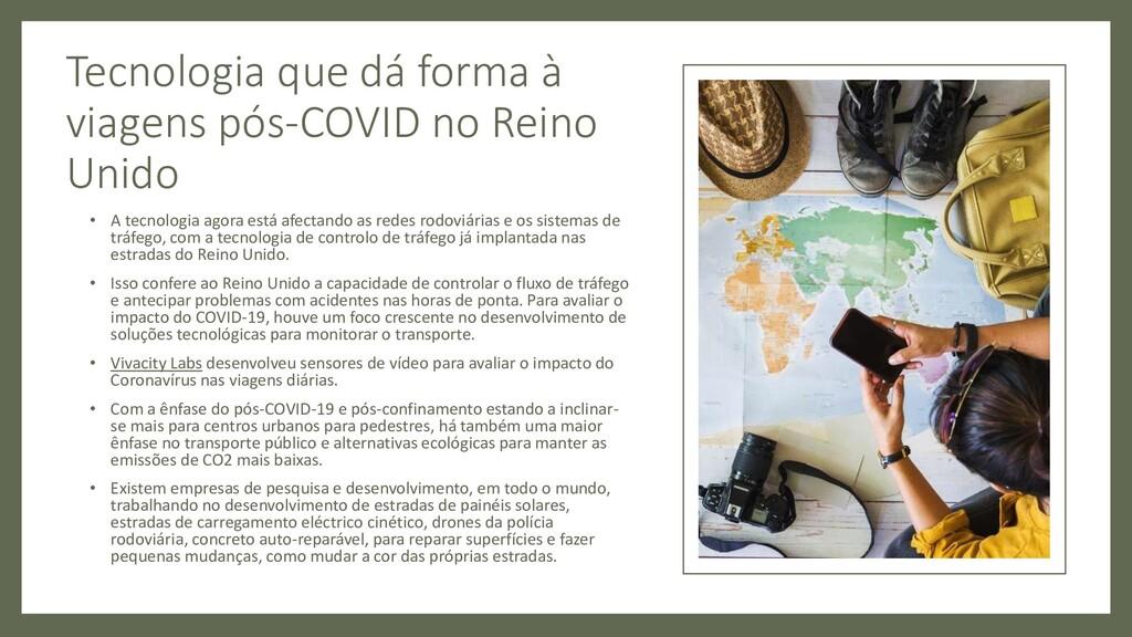 Tecnologia que dá forma à viagens pós-COVID no ...