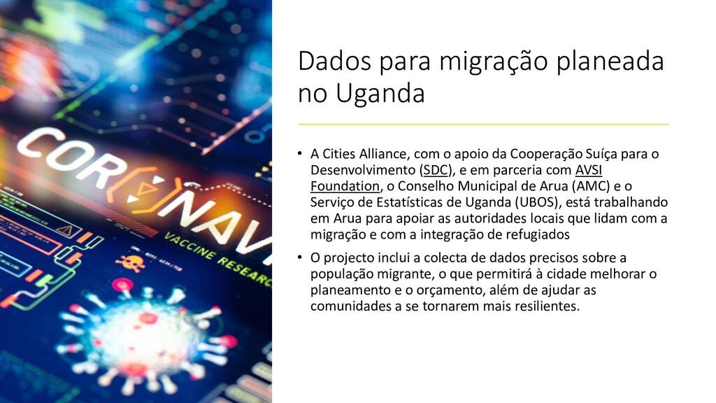 Dados para migração planeada no Uganda • A Citi...