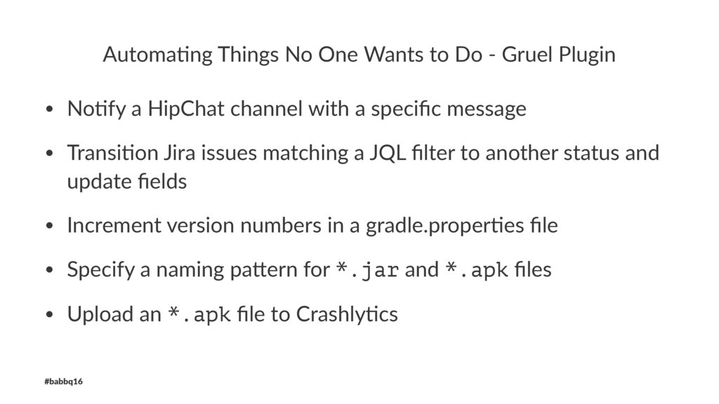 Automa'ng Things No One Wants to Do - Gruel Plu...