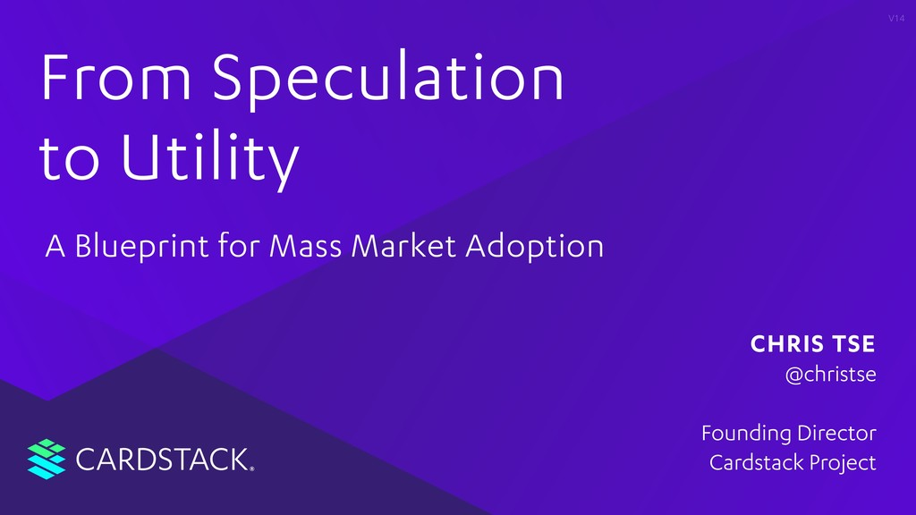 CARDSTACK From Speculation to Utility A Bluepri...