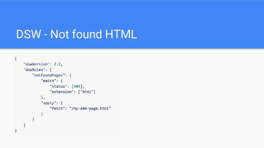 DSW - Not found HTML