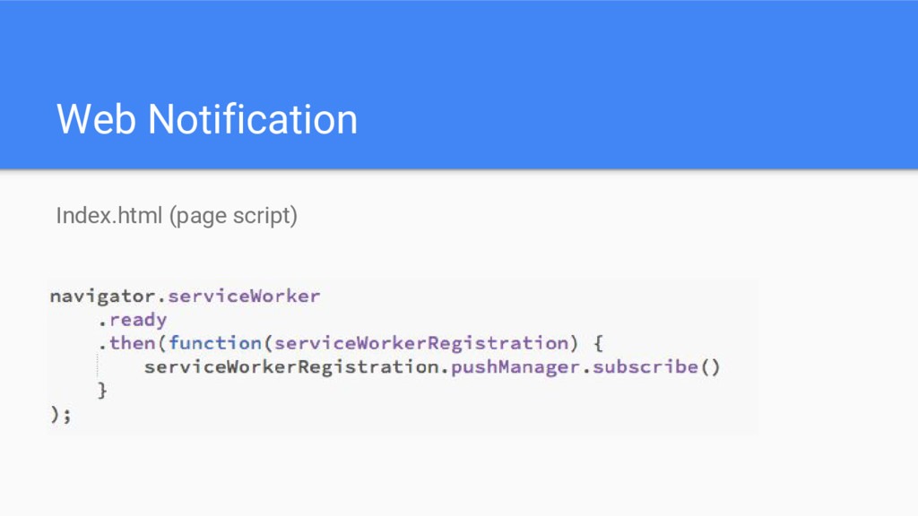 Web Notification Index.html (page script)