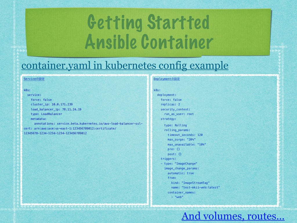 Getting Startted Ansible Container container.ya...