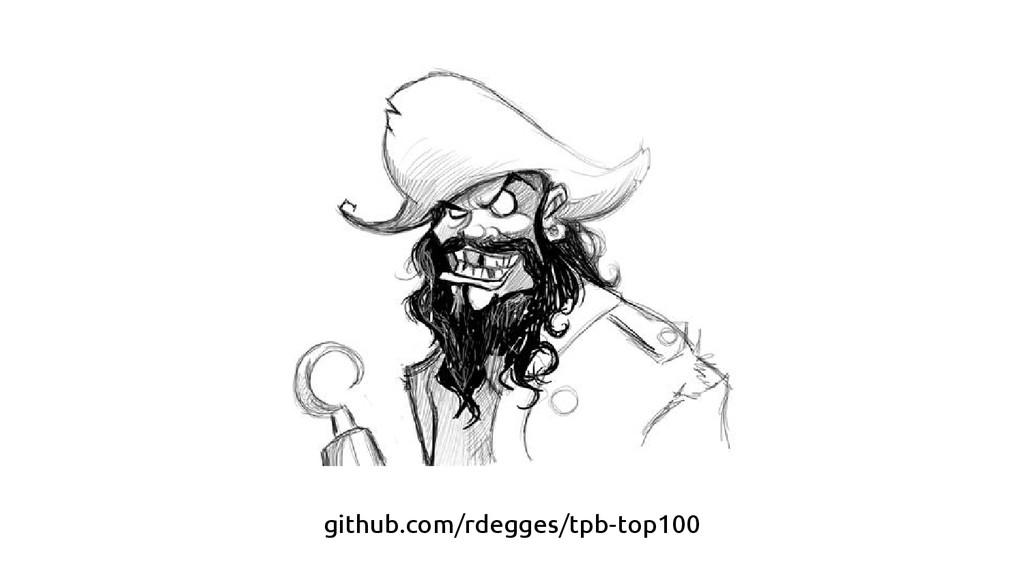 github.com/rdegges/tpb-top100