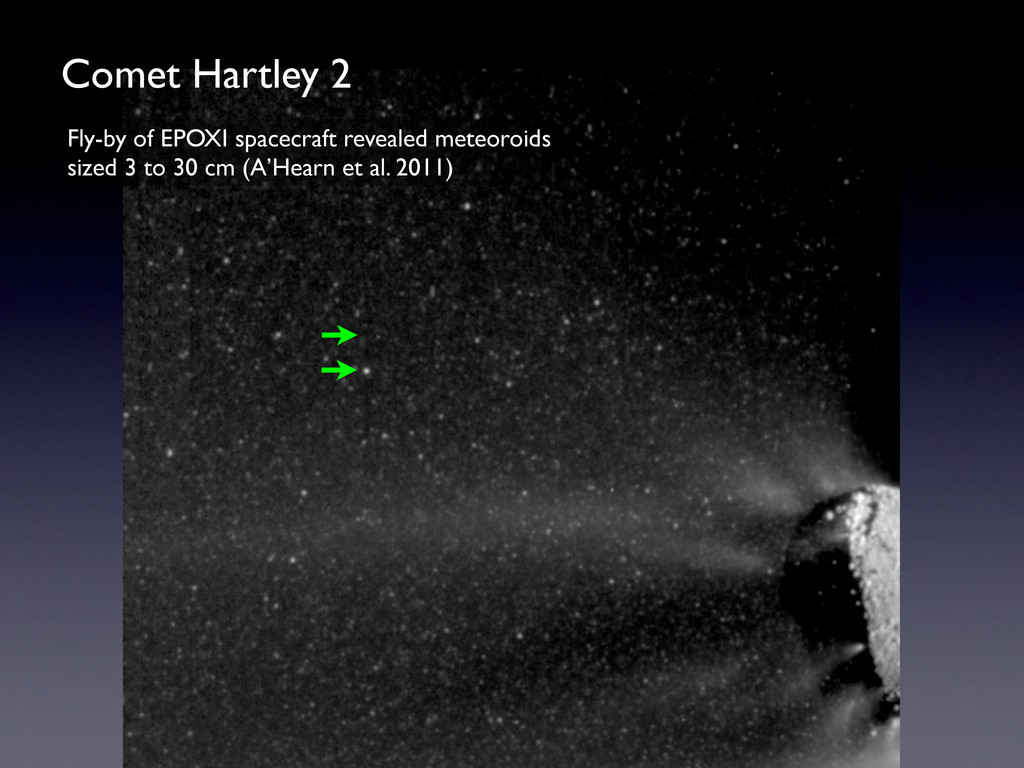 Comet Hartley 2 Fly-by of EPOXI spacecraft reve...