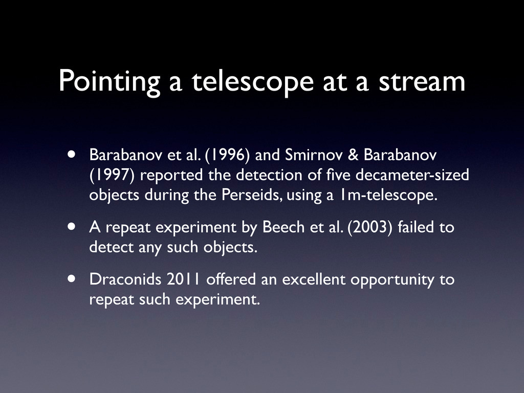• Barabanov et al. (1996) and Smirnov & Baraban...